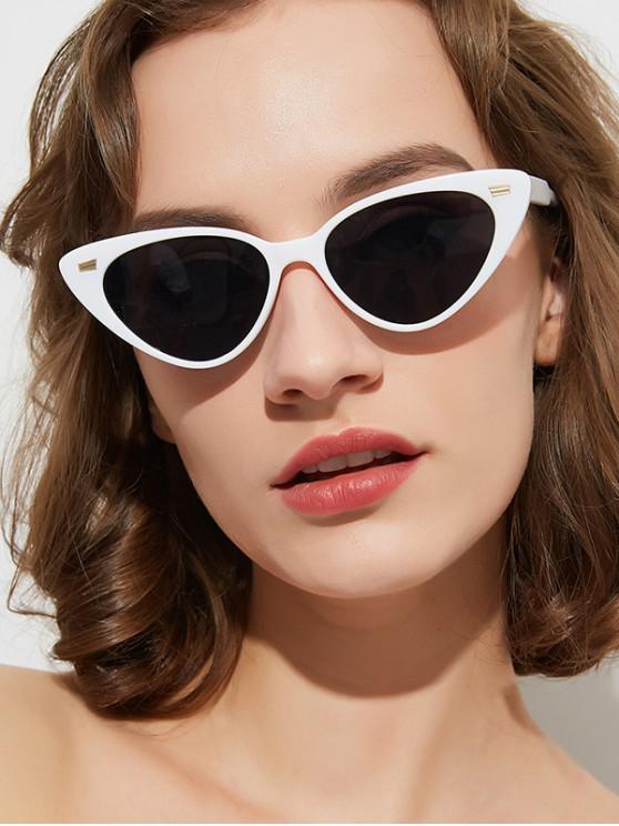 buy Stylish Triangle Shape Sunglasses - GRAY