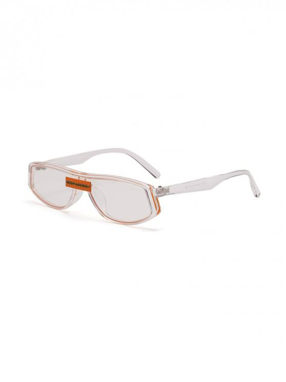 new Character Decorated Stylish Sunglasses - TRANSPARENT