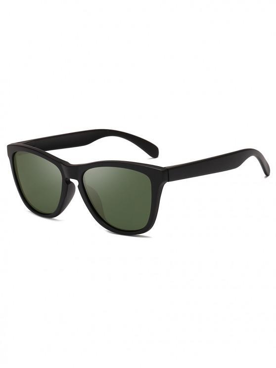 Manejando gafas de sol polarizadas de mariposa - Verde Oscuro