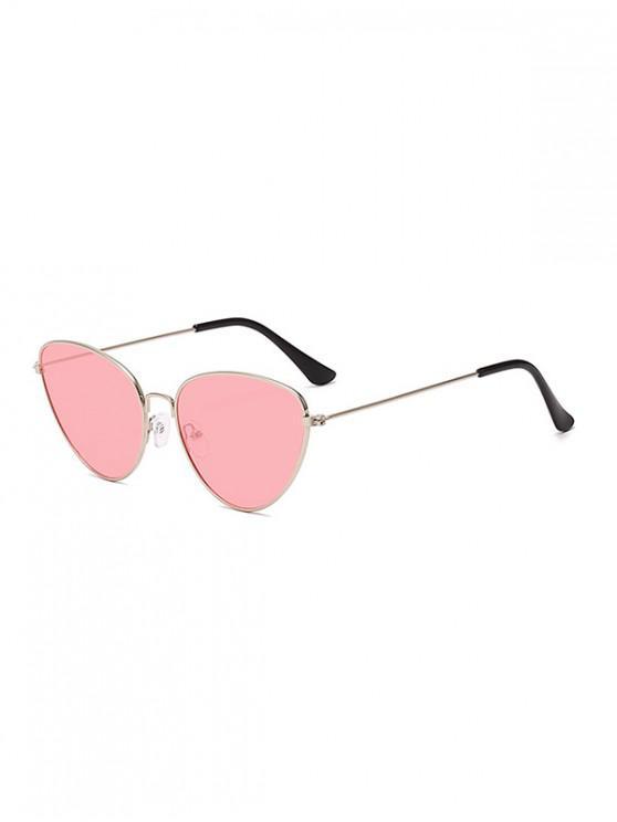 women's Unisex Light Metal Frame Sunglasses - PINK