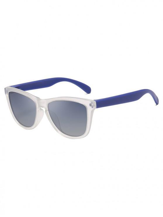 Manejando gafas de sol polarizadas de mariposa - Azul Océano