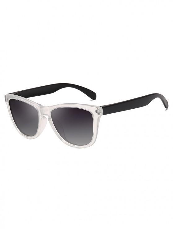 Manejando gafas de sol polarizadas de mariposa - Gris Carbón