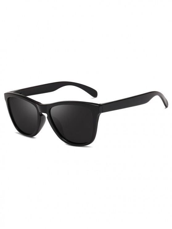 Manejando gafas de sol polarizadas de mariposa - Negro