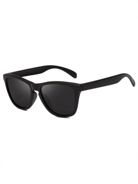 outfits Driving Polarized Butterfly Sunglasses - BLACK EEL