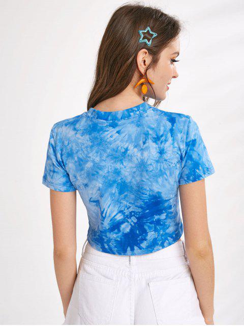 T-shirt Court Teinté à Manches Courtes - Multi-A L Mobile