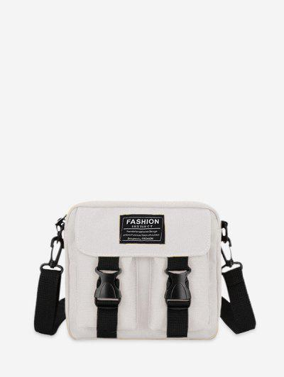 Image of Letter Pattern Leisure Crossbody Bag