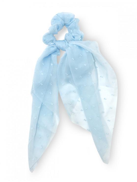 Banda elástica de pelo de gasa - Azul Claro