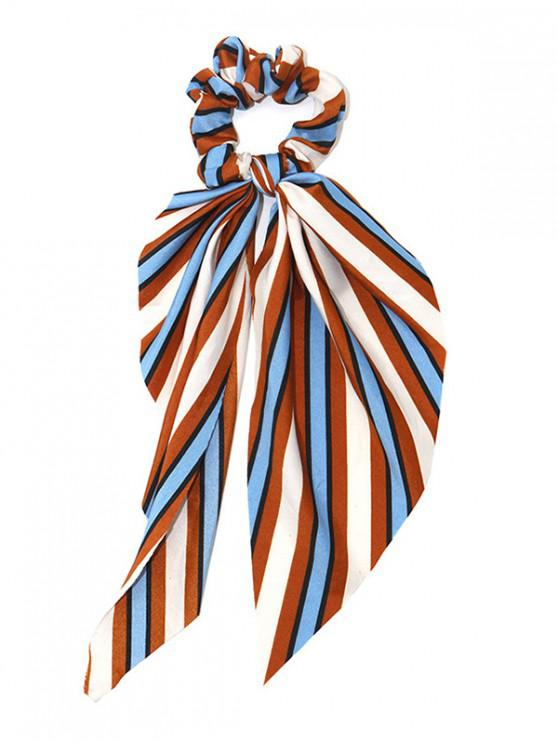 fashion Stripe Elastic Hair Band - TANGERINE