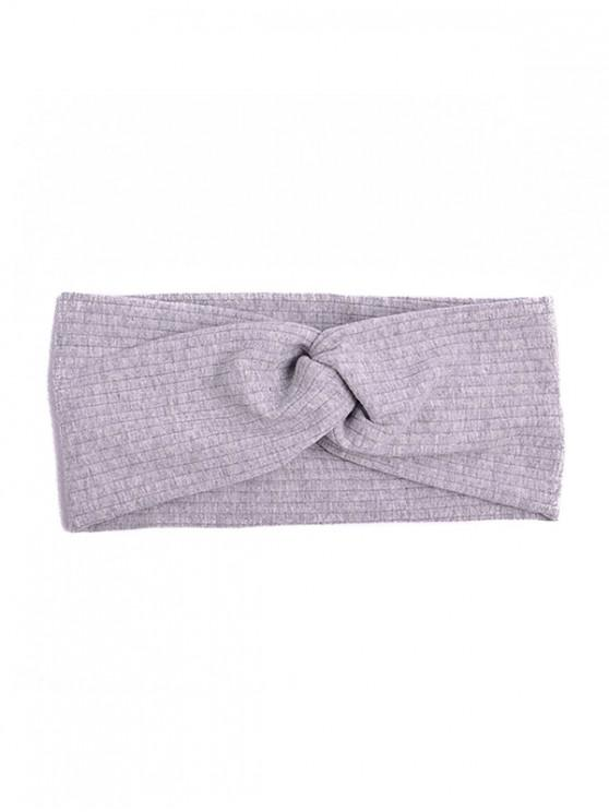 affordable Striped Elastic Hair Band - GRAY