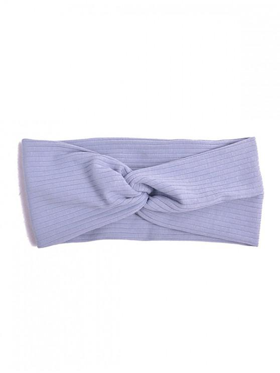 buy Striped Elastic Hair Band - BABY BLUE