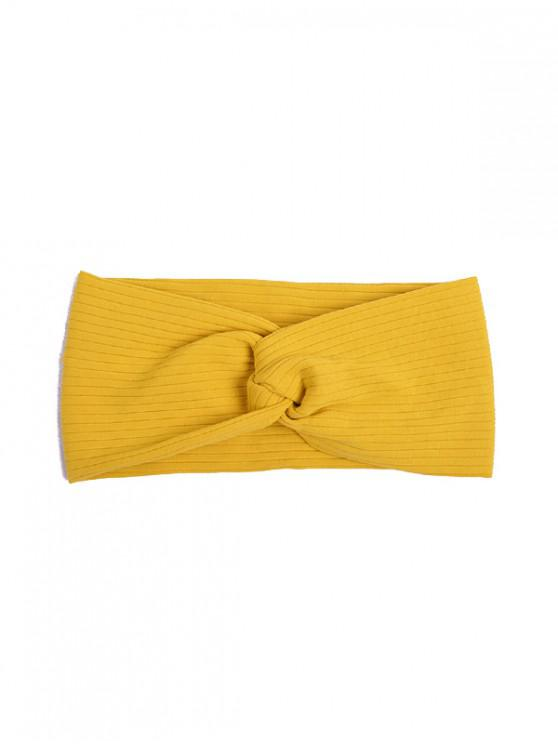 outfit Striped Elastic Hair Band - YELLOW