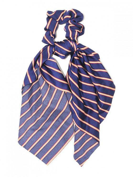Banda elástica de pelo de raya - Azul