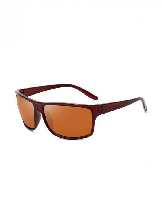 Sport Driving Biker gafas de sol polarizadas - Marrón