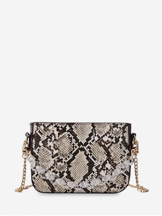 fashion Animal Pattern Chain Crossbody Bag - MULTI-A
