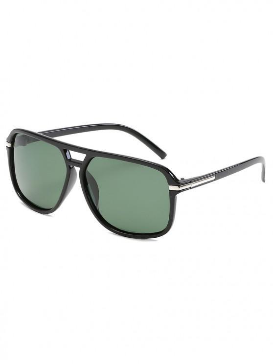 Gafas de sol polarizadas vintage - Verde Oscuro