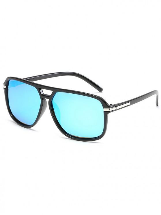 Gafas de sol polarizadas vintage - Azul Cristal