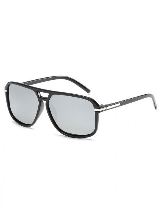 Gafas de sol polarizadas vintage - Platino