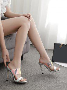 41ba31ac2b 32% OFF] [NEW] 2019 European Stylish Transparent High Heel Sandals ...