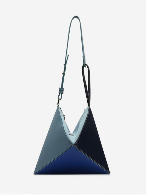Bandolera geométrica - Azul Eléctrico