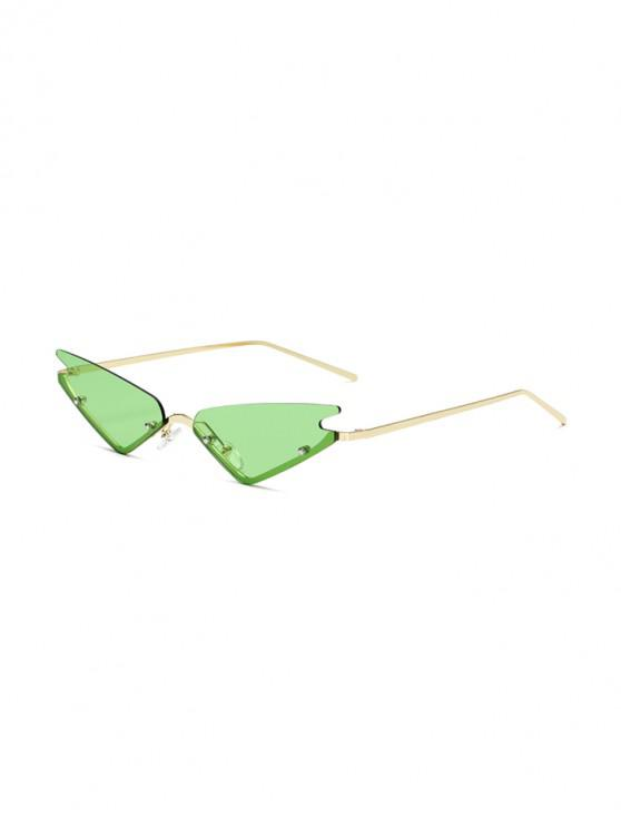 shops Vintage Style Outdoor Sunglasses - GREEN