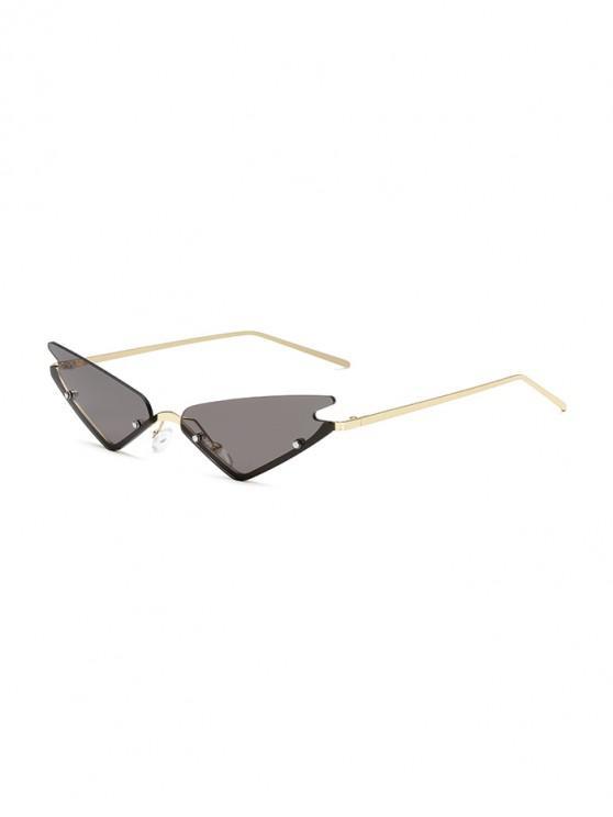 Gafas de sol al aire libre de estilo vintage - Gris