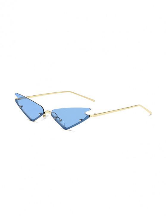 Gafas de sol al aire libre de estilo vintage - Azul
