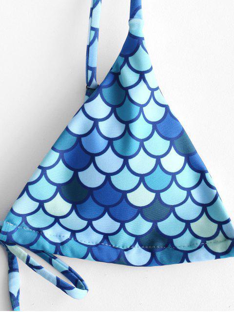 ZAFUL Maillot de Bain Bikini Sirène Imprimé - Multi-A S Mobile