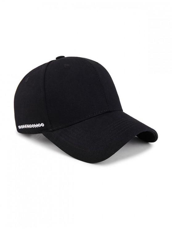 sale Letter Embroidery Pattern Baseball Cap - NIGHT