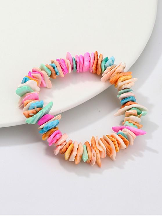 Plage En Coquille De Pâle Bracelet AcryliqueRose n0kP8wO