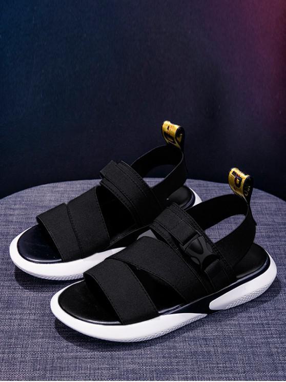 Sandales De 38 ÉlastiqueNoir Sport À Bande Eu TK5F1ulJc3