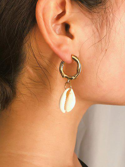 Imagem de 2Pairs Shell C Shape Earrings Set
