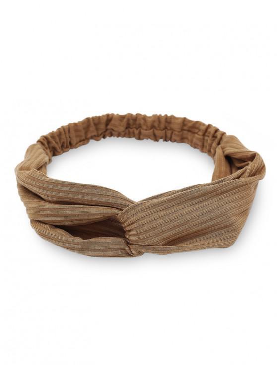 trendy Casual Elastic Hair Band - CAMEL BROWN
