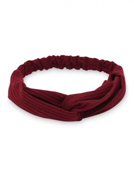 fashion Casual Elastic Hair Band - RED WINE