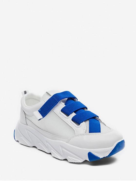 Calzado elástico de malla transpirable calzado deportivo YELLOW BLUE RED