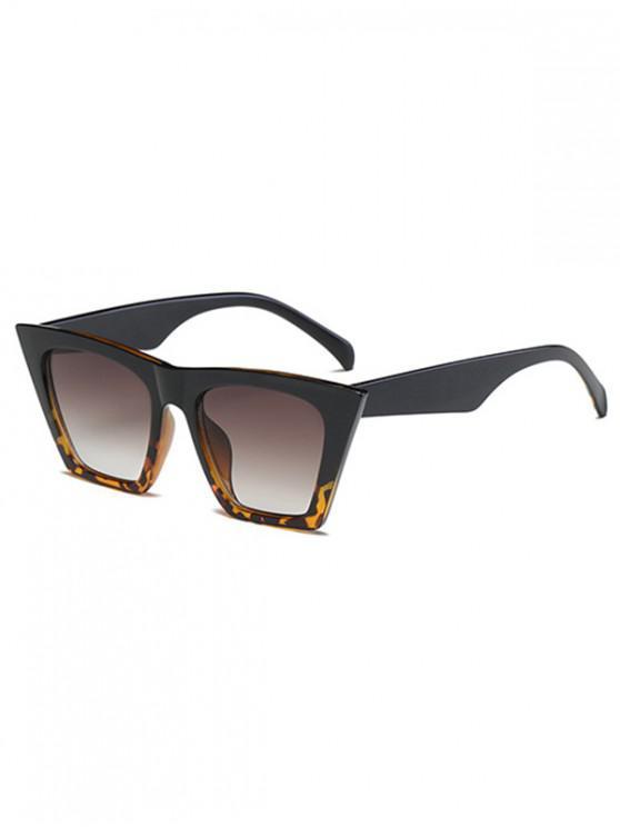 نظارة شمسية كبيرة - أسود