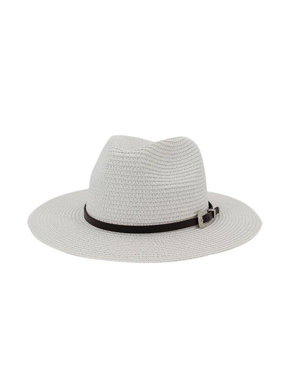 Cintura Impreziositi Paglia All'Aperto Jazz Spiaggia Di Hat