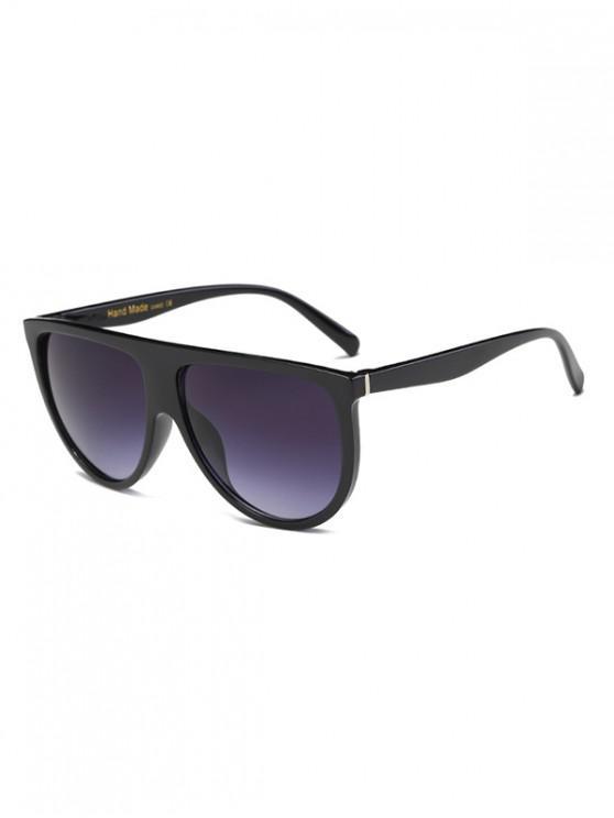 shops Vintage European Oversize Sunglasses - BLACK