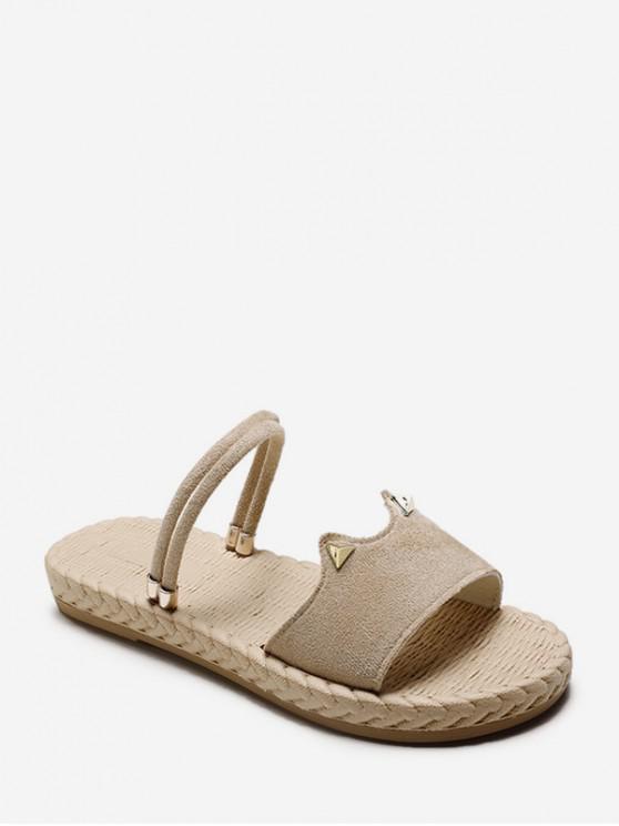 womens Beach Style Outdoor Sandals - KHAKI EU 38