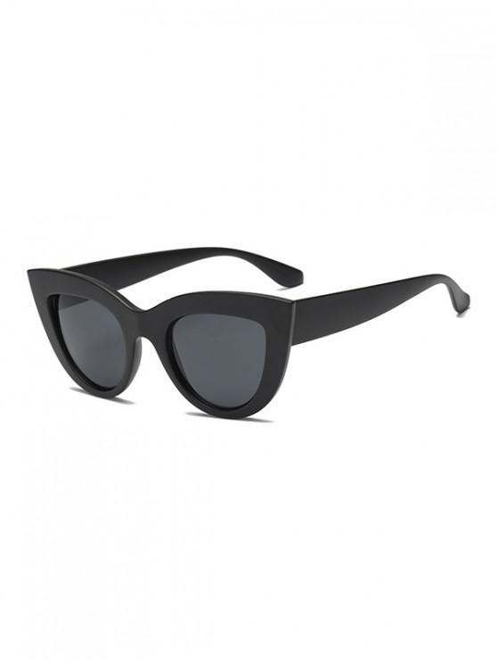 outfits Vintage Big Frame Outdoor Sunglasses - BLACK