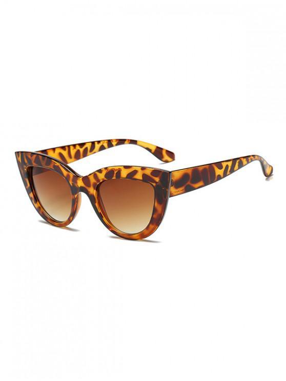 แว่นกันแดดวินเทจบิ๊กเฟรมกลางแจ้ง - เสือดาว