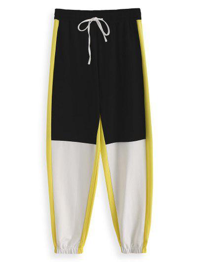 04c796d315 ZAFUL Seam Pockets Color Block Jogger Pants - Multi-a 2xl ...