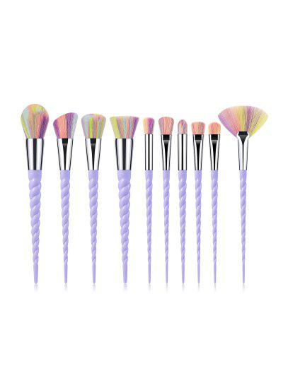 Imagem de 10Pcs Powder Spiral Makeup Brushes