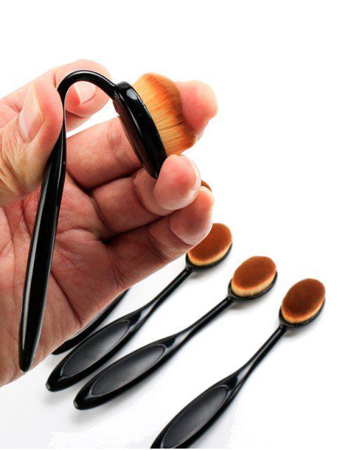 Pinceau de Maquillage de Base de Forme de Brosse à Dents - Noir  Mobile