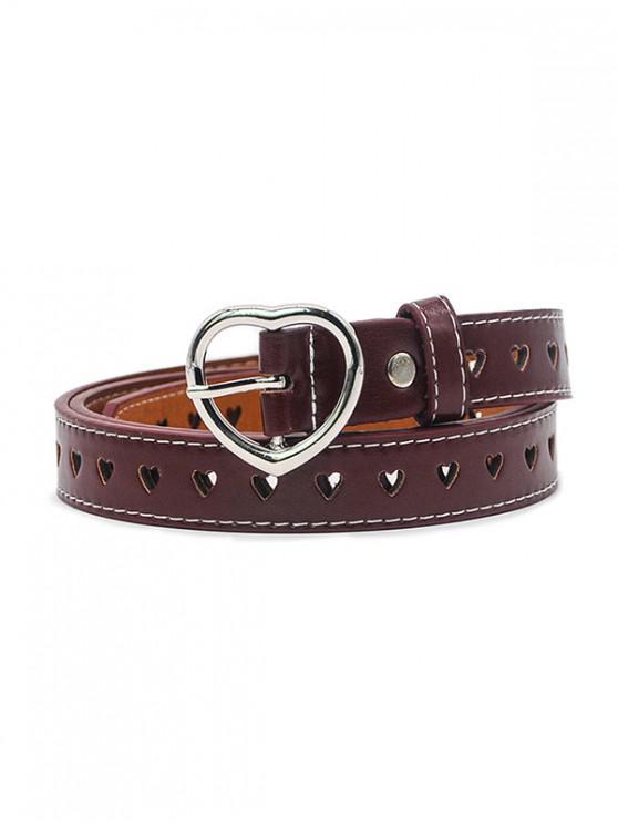 Cintura sottile a forma di cuore - Mattone Fuoco
