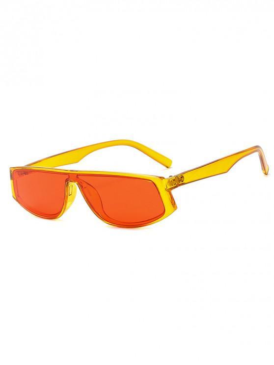 Occhiali da sole geometrici anti UV - Giallo Sole