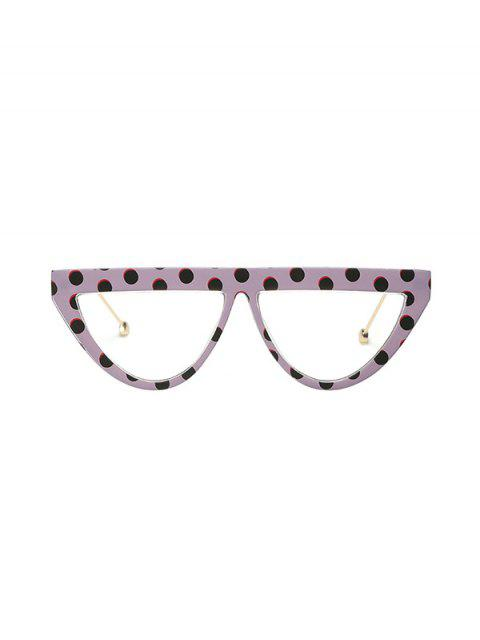 Lunettes de Soleil à Demi-cercle Anti UV - Violet Wisteria  Mobile