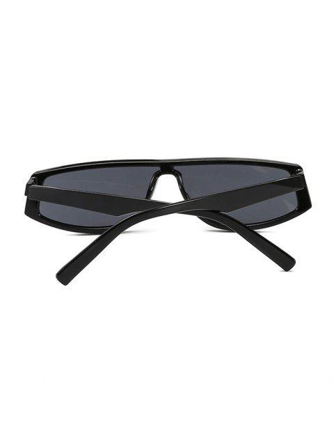 Lunettes de soleil géométriques anti-UV - Noir  Mobile