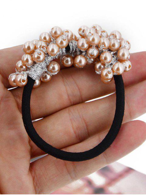 Chouchous Bande de Cheveux Elastique en Fausse Perle - Gris  Mobile