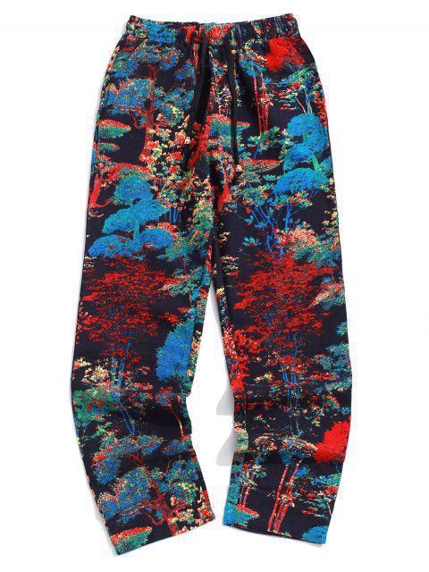 Pantalon droit long avec poche à l'arrière - Multi-C 2XL Mobile
