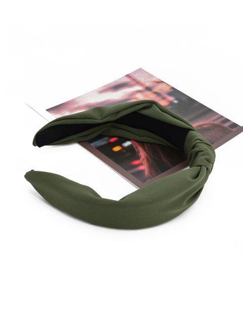 Bandeau Large Style Simple - Vert Foncé  Mobile